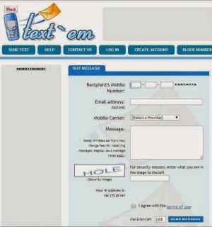send text online - textem