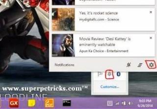 email desktop notification