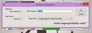 lock PC with flash drive
