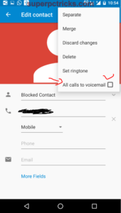 block a phone number moto g