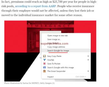 google chrome reverse image search