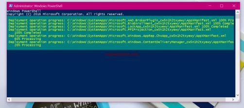 taskbar not working windows 10