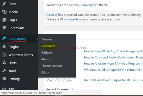 wordpress image not centering