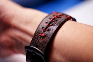 Baseball Red Stitching on watch 2