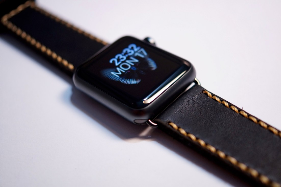 Black Classic watch 1