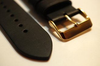 Monowear Black Leather + Gold Buckle 04