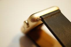 Monowear Black Leather + Gold Buckle 08