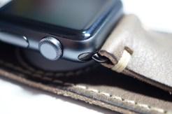 BuonGustoItaliano Handmade Leather Cuff Apple Watch Band 03
