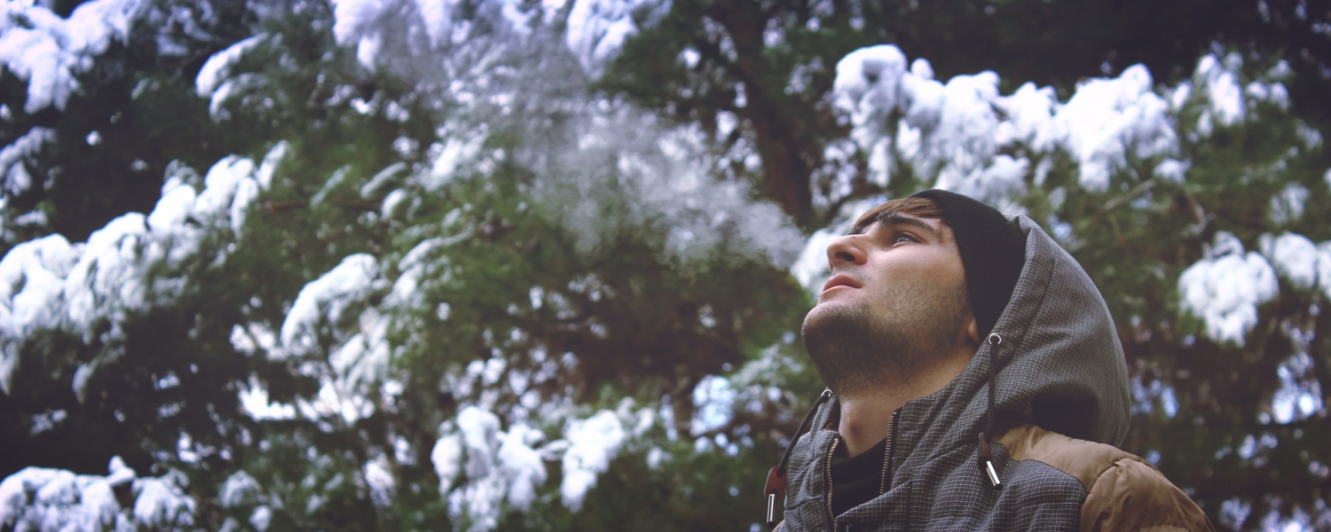 young-man-looking-up-in-forest-253787