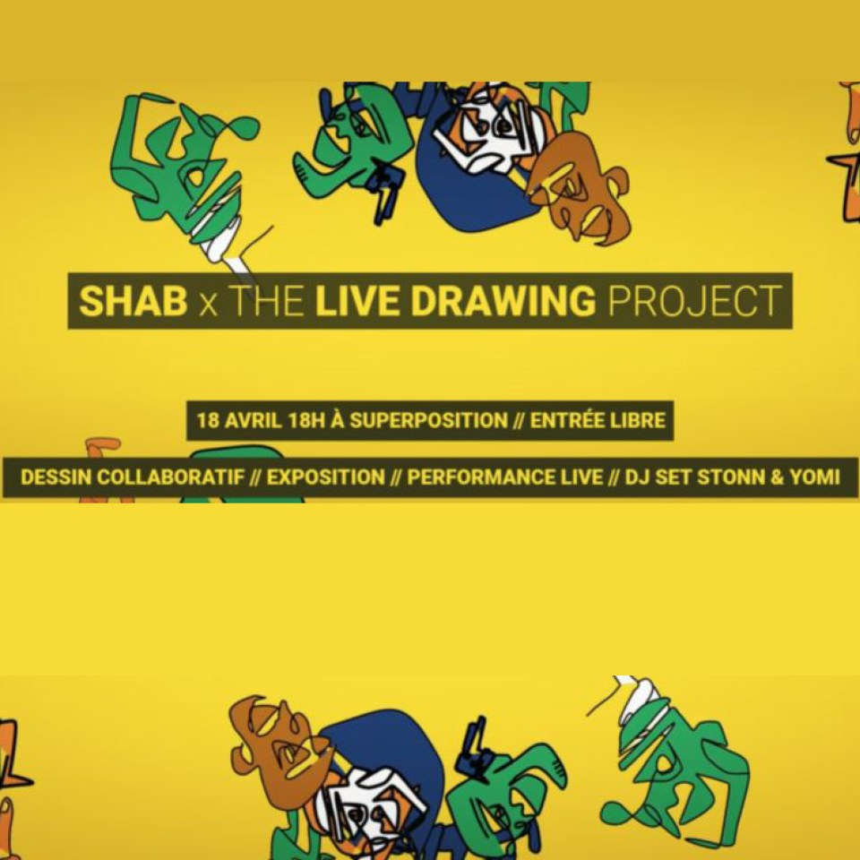 Shab x The Live Drawing Project