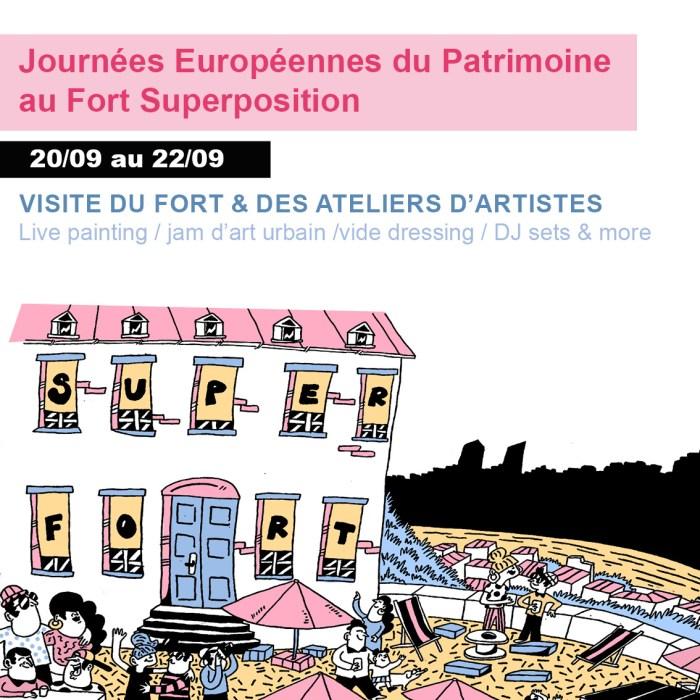 À l'assaut du Fort Superposition – Journées Européennes du Patrimoine