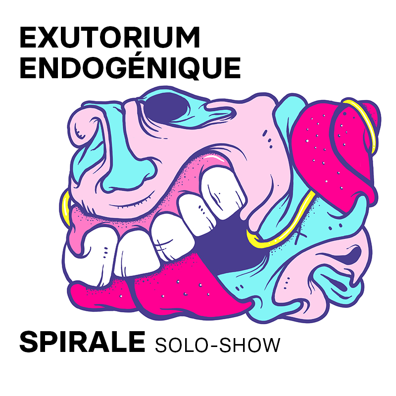 04 juin – 27 juin : Solo-show «Exutorium Endogénique» par Spirale