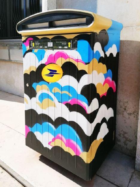 Réalisation de fresque street art à Lyon