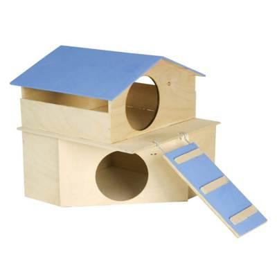 Domek dla gryzonia piętrowy