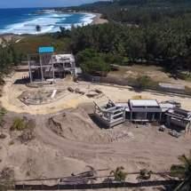 Progreso de los trabajos en la Playa Jobos – Fotos