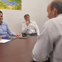 El gobernador Ricardo Rosselló inaugura un parque solar en Isabela