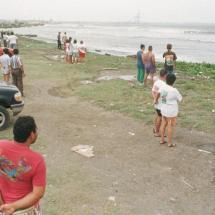 Las playas del norte, este y oeste no están aptas para bañistas