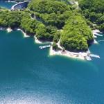 絶景の池原ダム