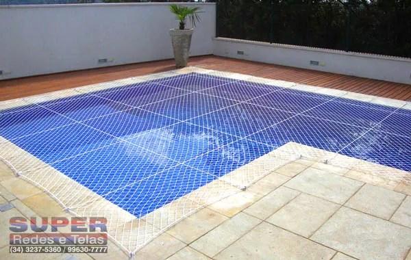 rede de piscina