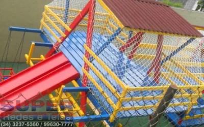 rede de proteção para playground