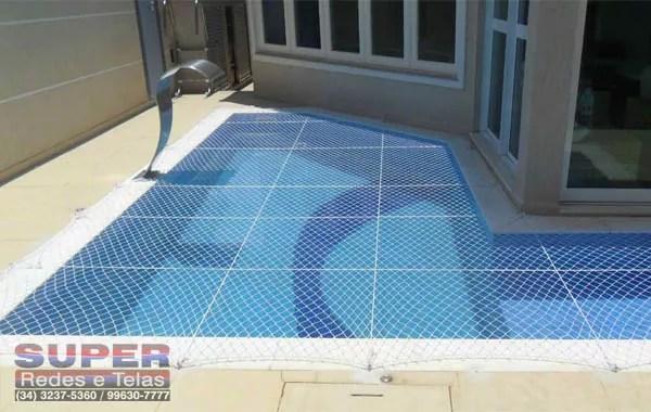 rede de proteção piscina