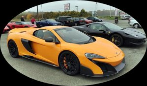 yellow McClaren 667x392