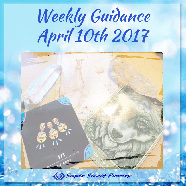 Weekly Guidance: April 10th, 2017: Trust the equilibrium of soul