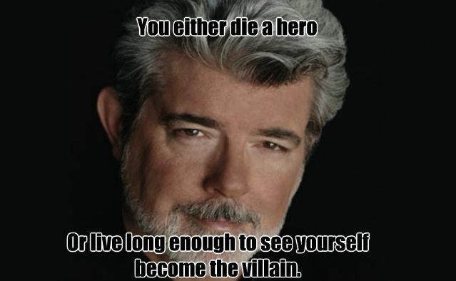 Stop Molesting My Movie Franchises, George Lucas #longestblogposttitleever (3/6)