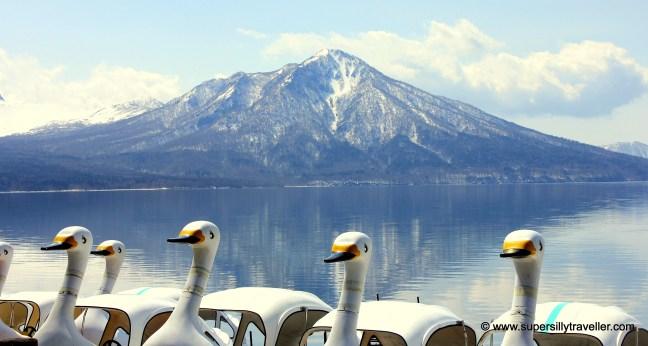 Lake Shikotsu Boating