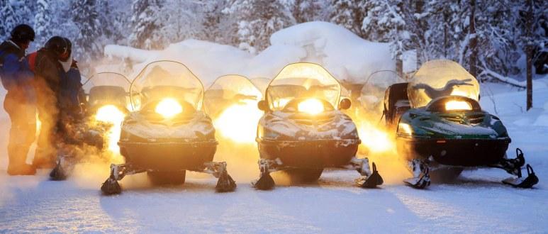Snow mobile furano