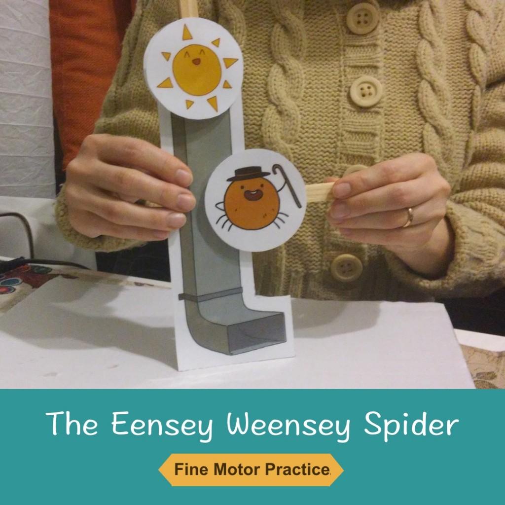 The Eensey Weensey Spider Craft