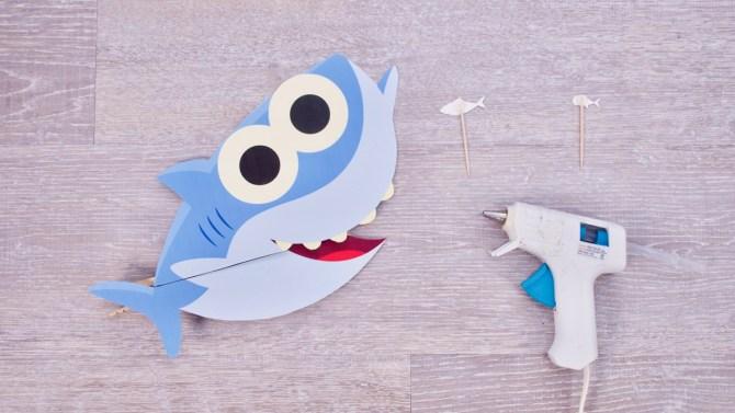Big Fish, Little Fish! - Baby Shark Craft