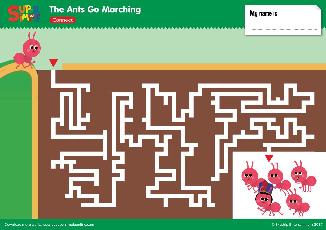 Ant Family Worksheet