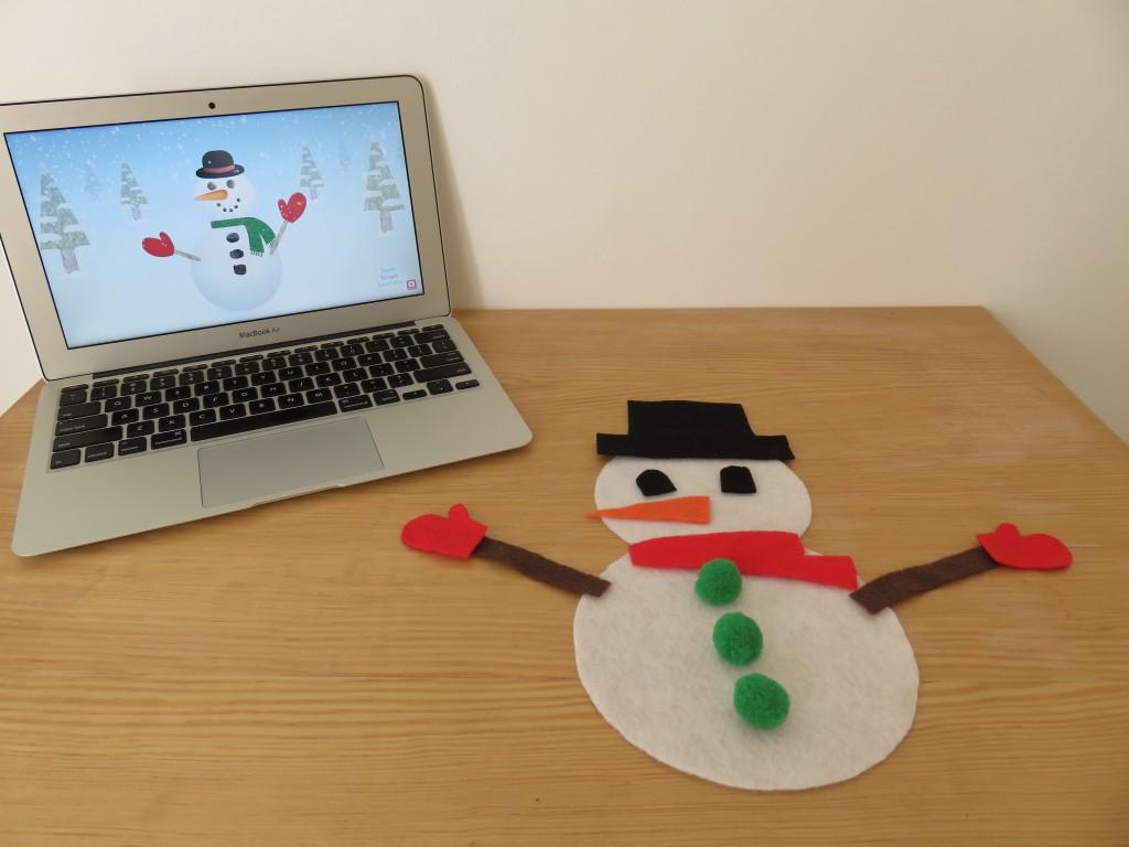I M A Little Snowman Sing Along Activity
