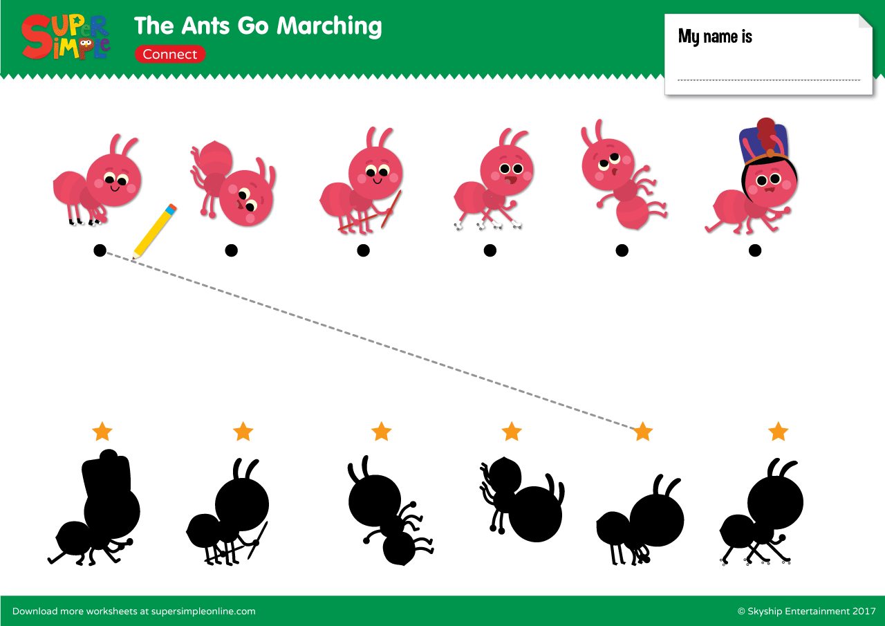 The Ants Go Marching Connect