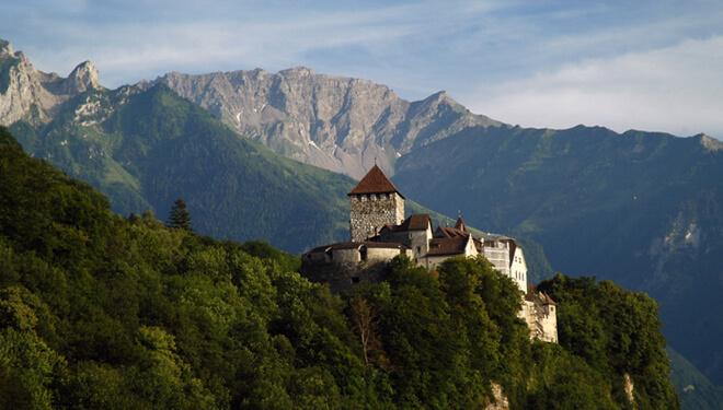 Самые маленькие страны мира. Княжество Лихтенштейн.