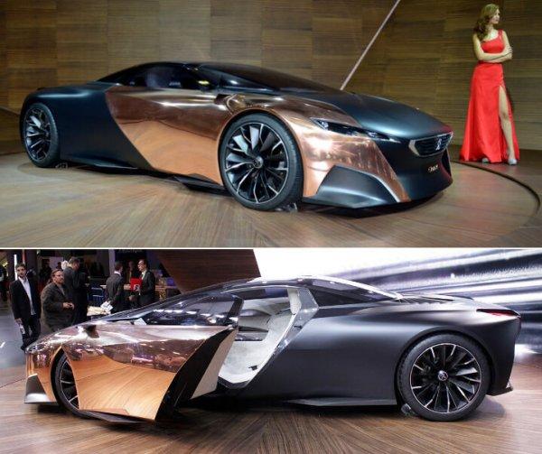 Красивые автомобили. Фото самых красивых машин.