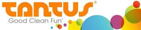 Tantus Good Clean Fun rainbow bubbles banner