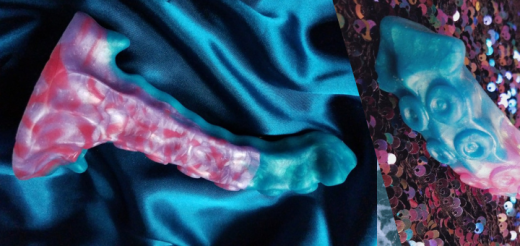 Uberrime Xenuphora silicone tentacle dildo review featured image banner