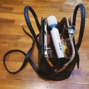 Magic Wand Plus in purse