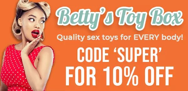 Use code SUPER for 10% off at Betty's Toy Box