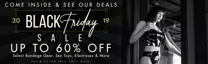 Black Friday & Cyber Monday Sales and Deals on Sex Toys 2019 11
