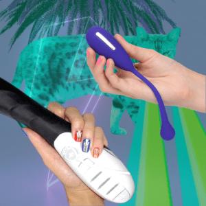 Erotic electrostimulation e-stim vibrators for Kegel exercises