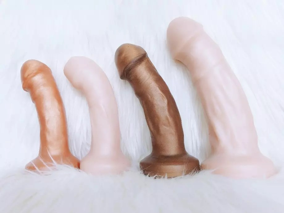 Review: Uberrime Primo, Dulce, Optimo, Maxime dual-density dildos 2