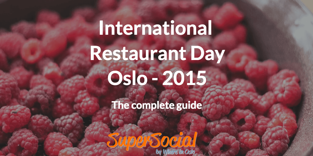 International Restaurant Day in Oslo 2015