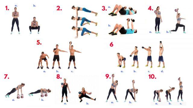 Kettlebell Hell Workout. Saviour Workouts. Strength. Endurance. Flexibility. Cardiovascular. Kettlebells. Super Soldier Project.