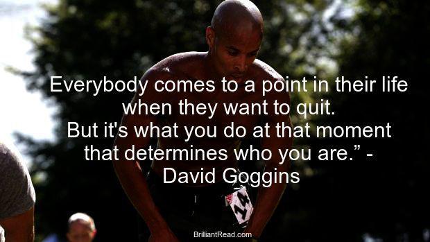 David Goggins Quotes inspirational life success failure
