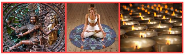 Spiritual aspects of Yoga. Dancing Shiva. Lotus pose. Meditation benefits. Scented Candles. Incense candles.Namaste.