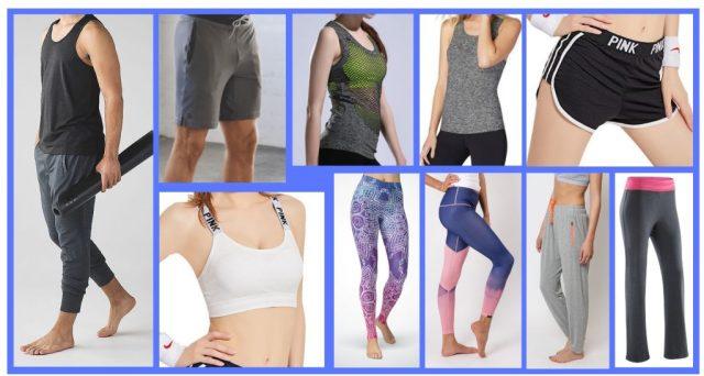 Yoga attire. Flexibility training. Core Workouts.