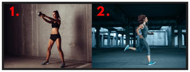 Functional Fitness. Amazon Workout. Muscular Endurance. Kettlebell Swings. Sprint drills. HIIT cardio.